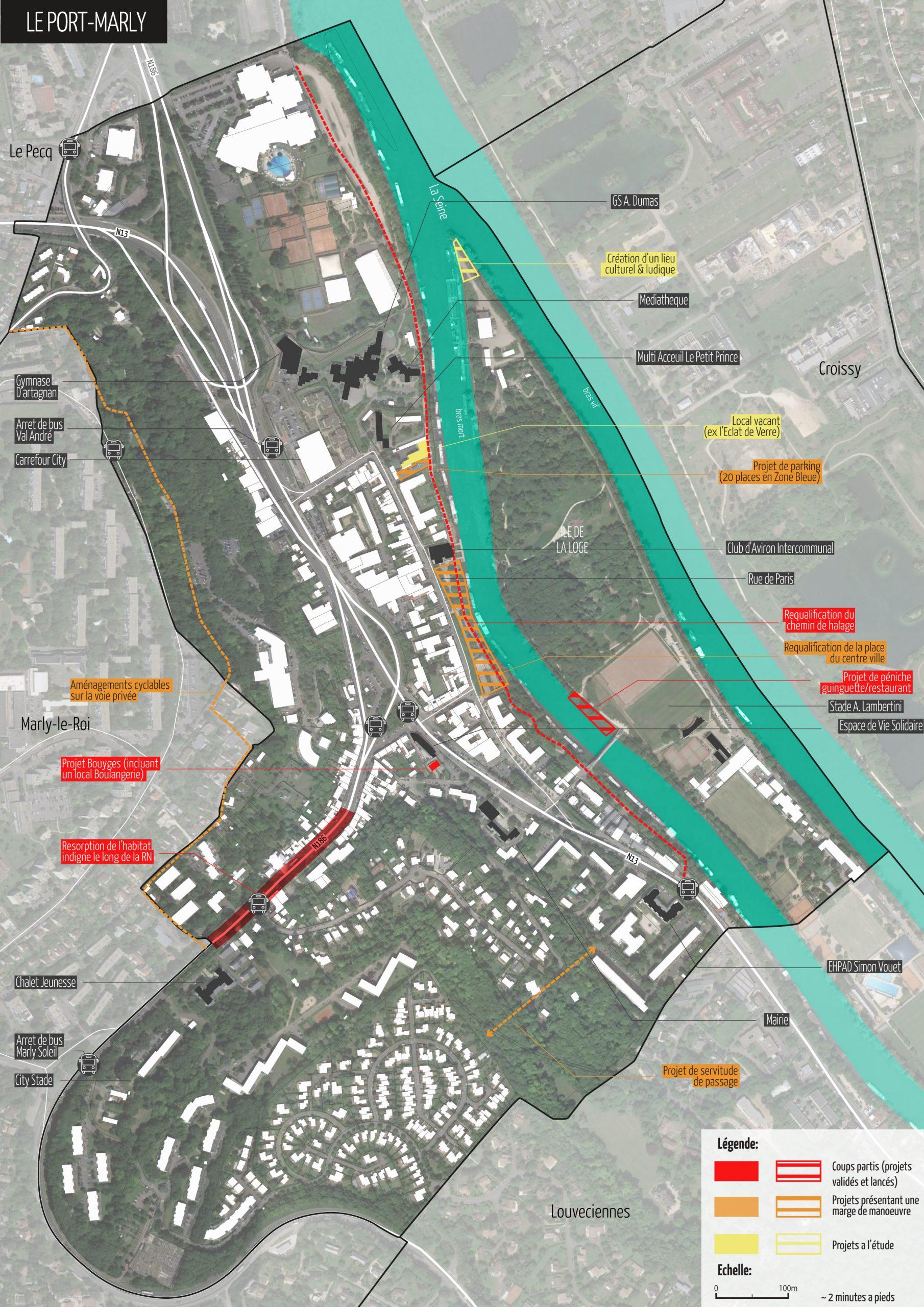 2019 CA SAINT-GERMAIN BOUCLES DE SEINE (78) : AMO et études urbaines pour la redynamisation des centres villes