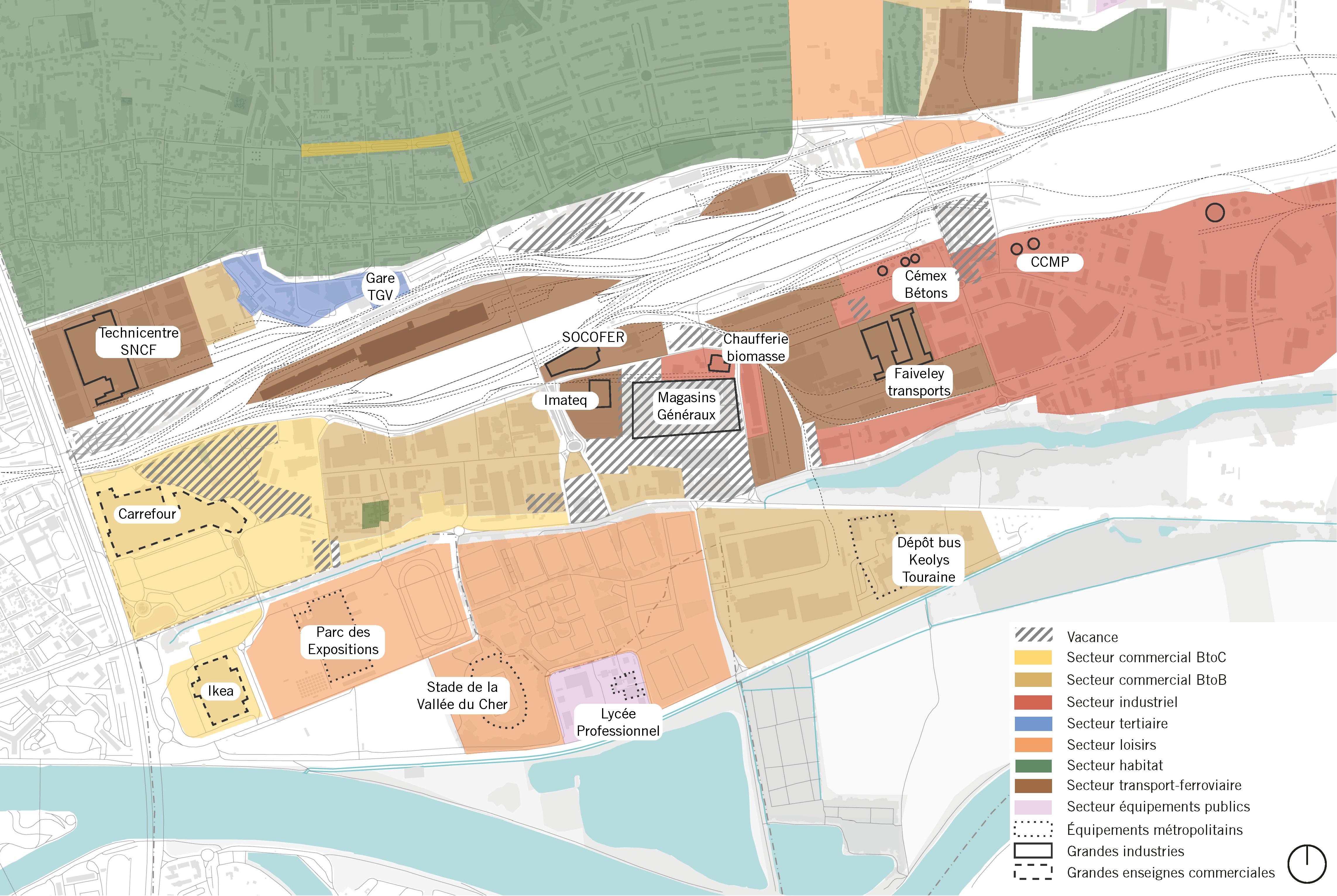 2020 SAINT-PIERRE-DES-CORPS : Réalisation d'une étude urbaine sur un pôle élargi de la Gare de Saint-Pierre-des-Corps